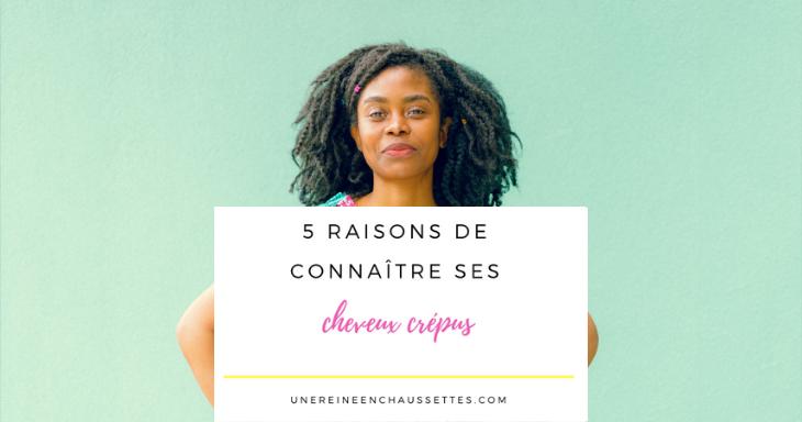 Blog 5 raisons de bien connaitre ses cheveux crépus une reine en chaussettes blog de beauté naturelle des cheveux crépus
